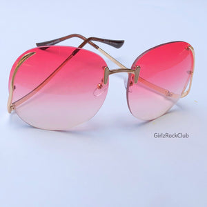 THE PINK BERRY SUNGLASSES