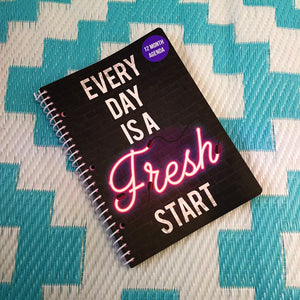 EveryDay Is A Fresh Start Agenda