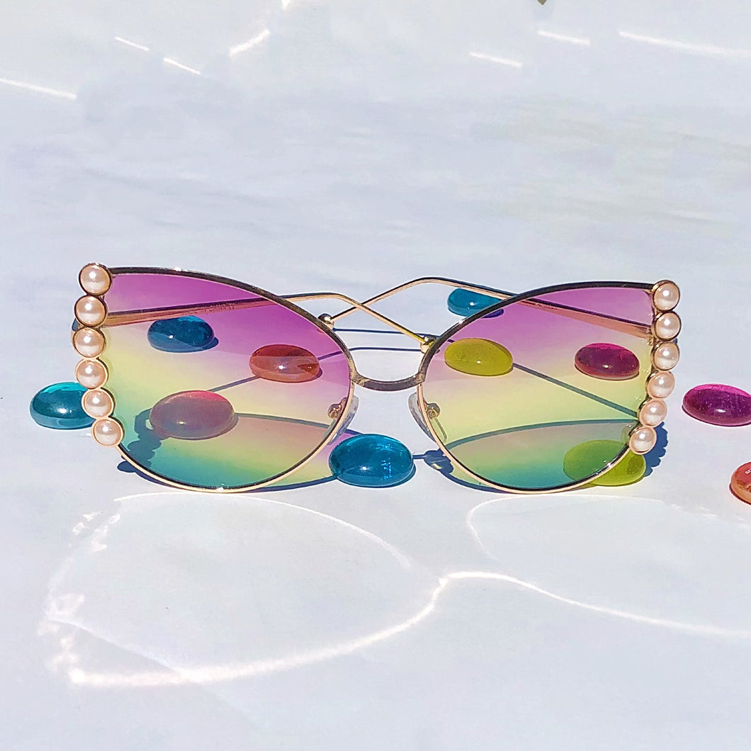 RAINBOW PEARL SUNGLASSES