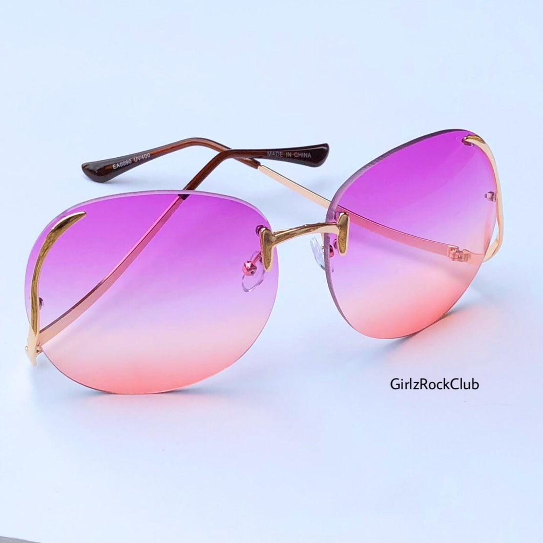 THE LILAC SUNGLASSES