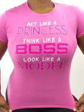 PRINCESS BOSS MODEL TEE
