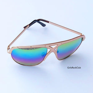 THE RAINBOW SUNGLASSES