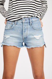 Cruz High Waist Cut-off Short