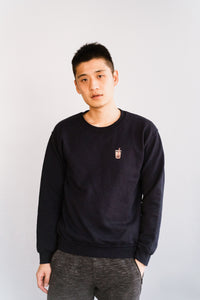 Bubble Tea Crewneck Sweatshirt (Men's)