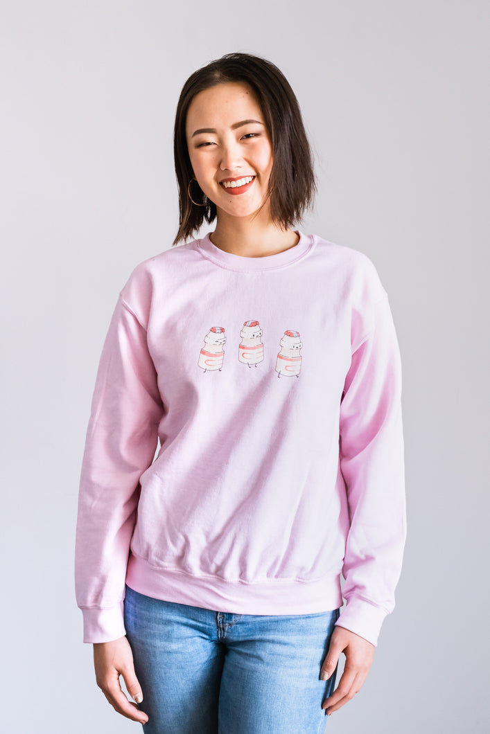Triple Yakult Crewneck Sweatshirt (Women's)