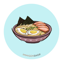 Load image into Gallery viewer, Asian Food Sticker Packs