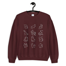 Load image into Gallery viewer, Chinese Zodiac Crewneck Sweatshirt (Men's)