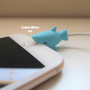 Cable Animal Bites - Blue Shark
