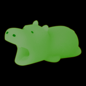 Cable Animal Bites - Hippo (Glow)