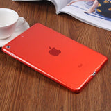 TPU Clear Transparent Silicone Gradient Color Case For iPad 9.7 Inch