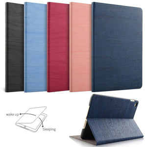 Leather Smart Cover Folio Case For iPad A1474 A1475 A1476 A1566 A1567 A1822 A1823