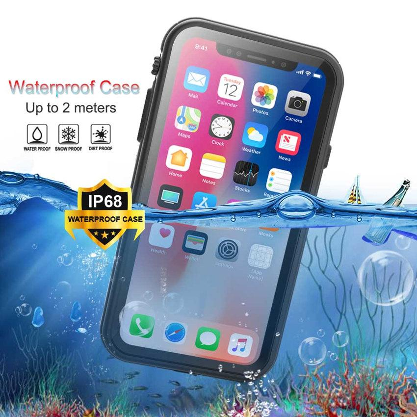 MILITARY GRADE WATER PROOF PREMIUM QUALITY Slim Case For iPhone