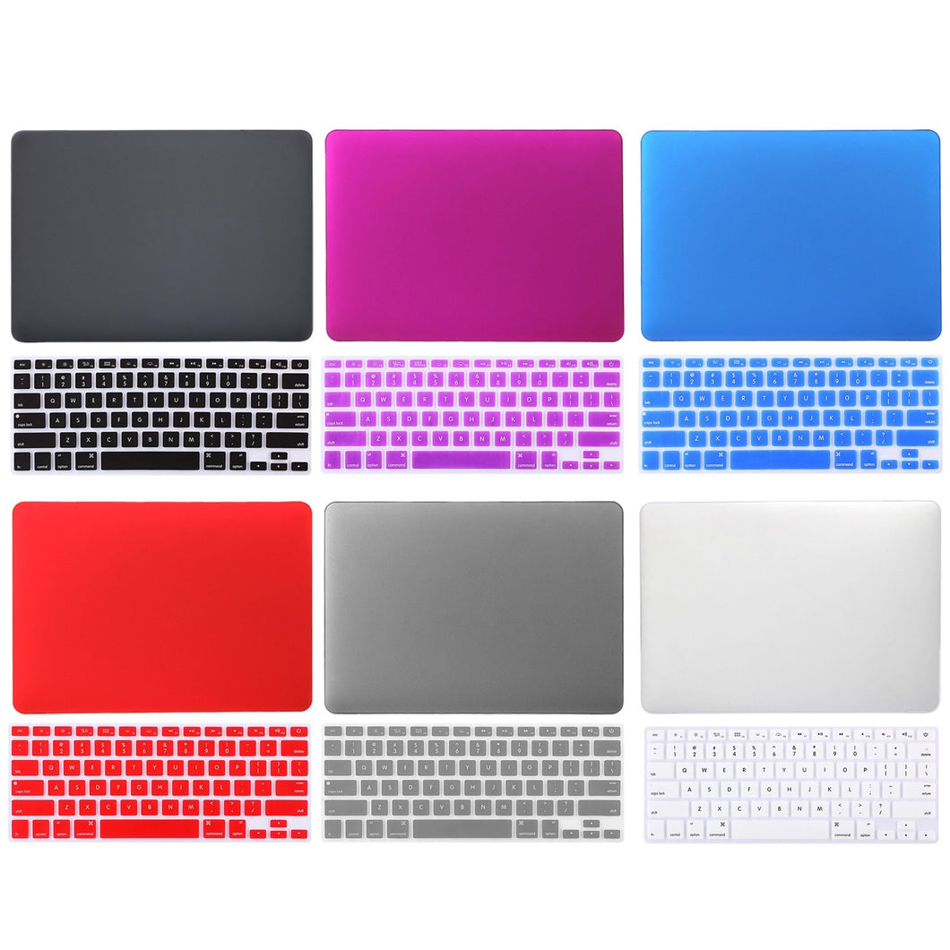 Crystal Plane with Keyboard Cover Shell for Apple Macbook
