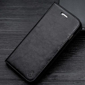 Luxury Leather Wallet Case For Samsung Galaxy