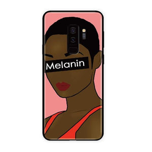 Melanin Soft Bumper Case For Samsung Galaxy