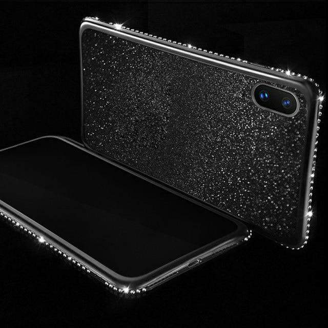 Luxury Plating Bling Diamond Case For Samsung Galaxy