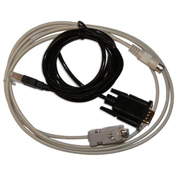 Serial Data Cable/USB to Serial Adapter Combo