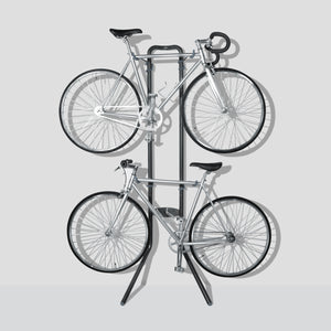 Two Bike Rugged Gravity Stand
