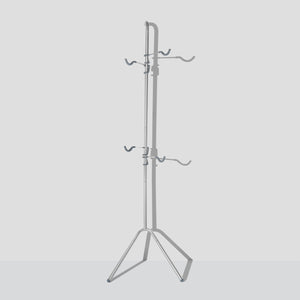 Two Bike Gravity Pole Stand