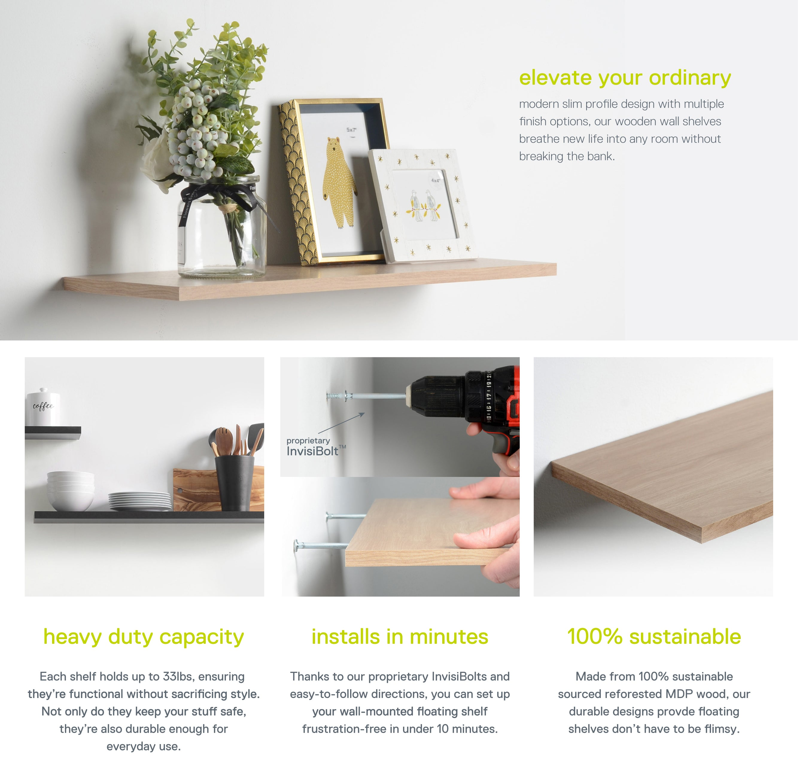 Floating Shelves Sales