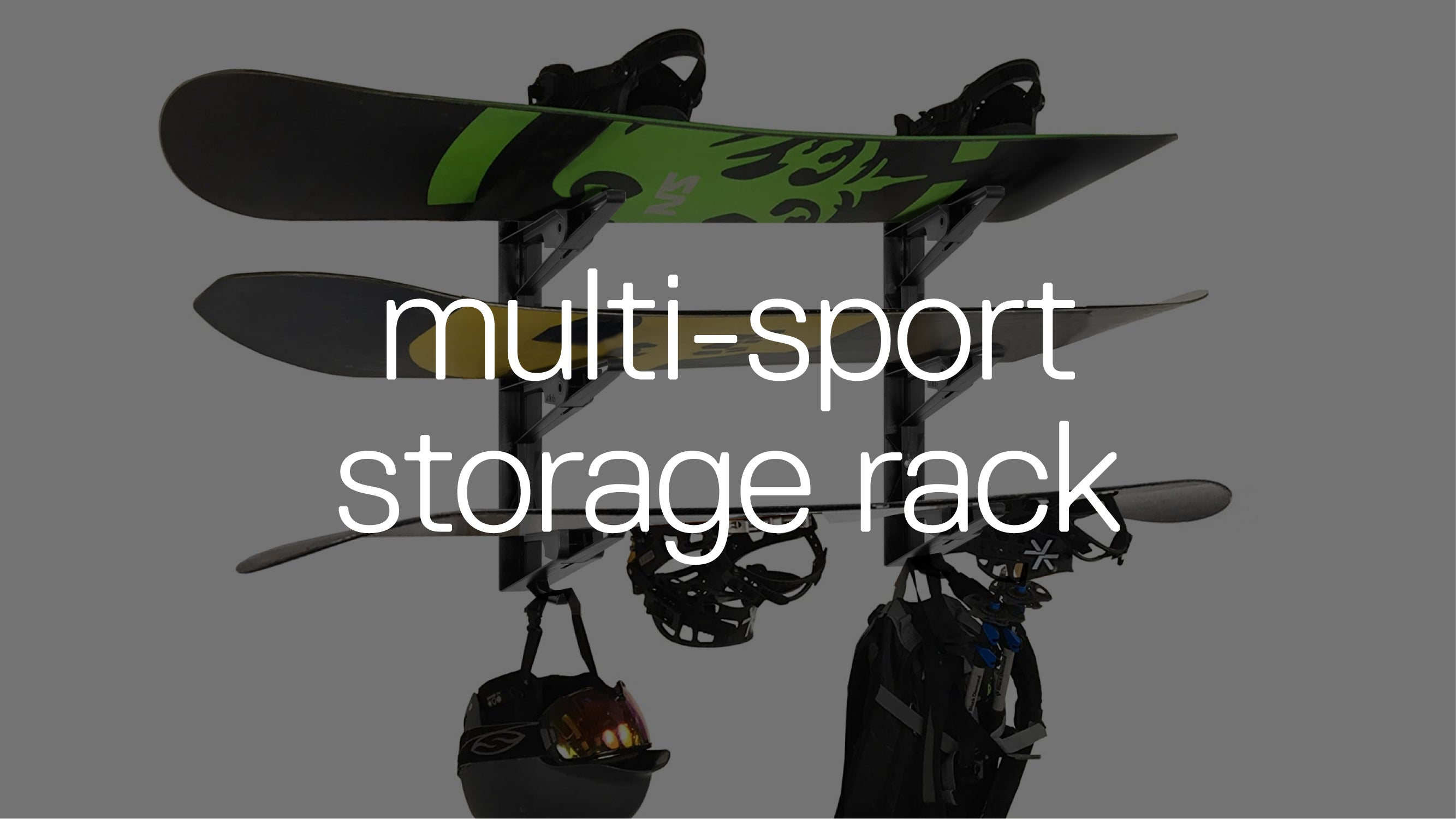 Multi-Sport Storage Rack