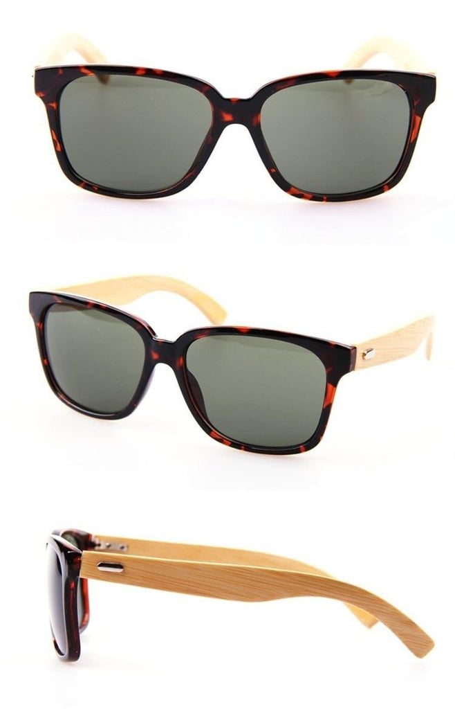 2617368d147 Bamboo Wood Sunglasses - Trompo Market. Hover to zoom