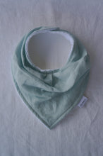 Load image into Gallery viewer, Handmade Linen Baby Bib