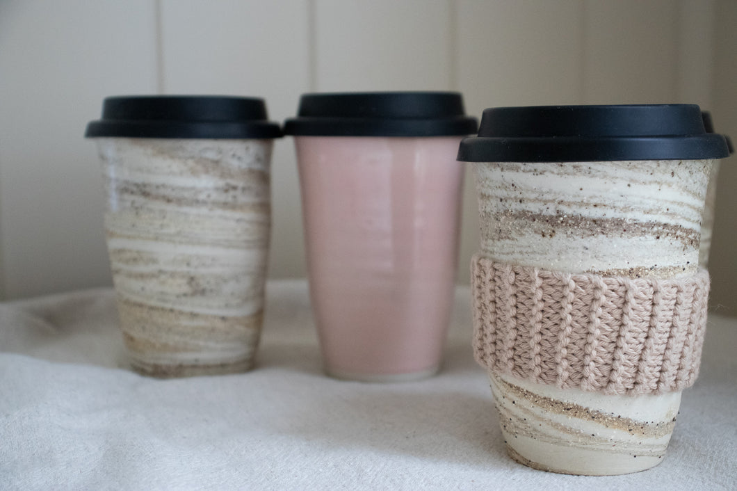 Reusable Ceramic Cup