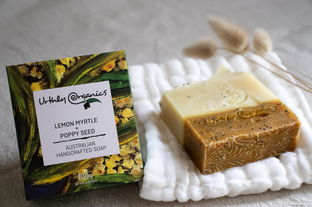 Lemon Myrtle & Poppy Seed Soap