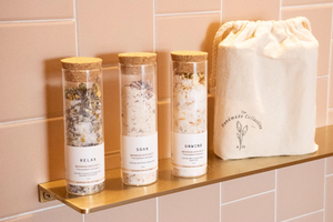 Botanical Bath Salts Set