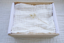Load image into Gallery viewer, Organic Cotton Quilted Muslin Blanket