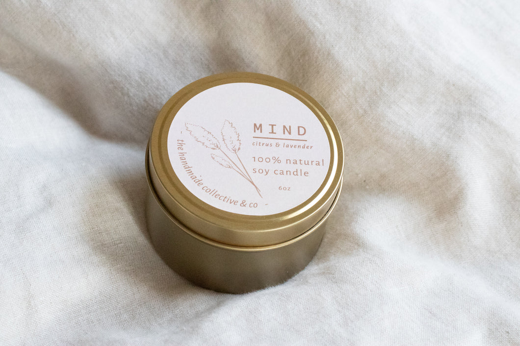 Mind ~ Natural Soy Candle