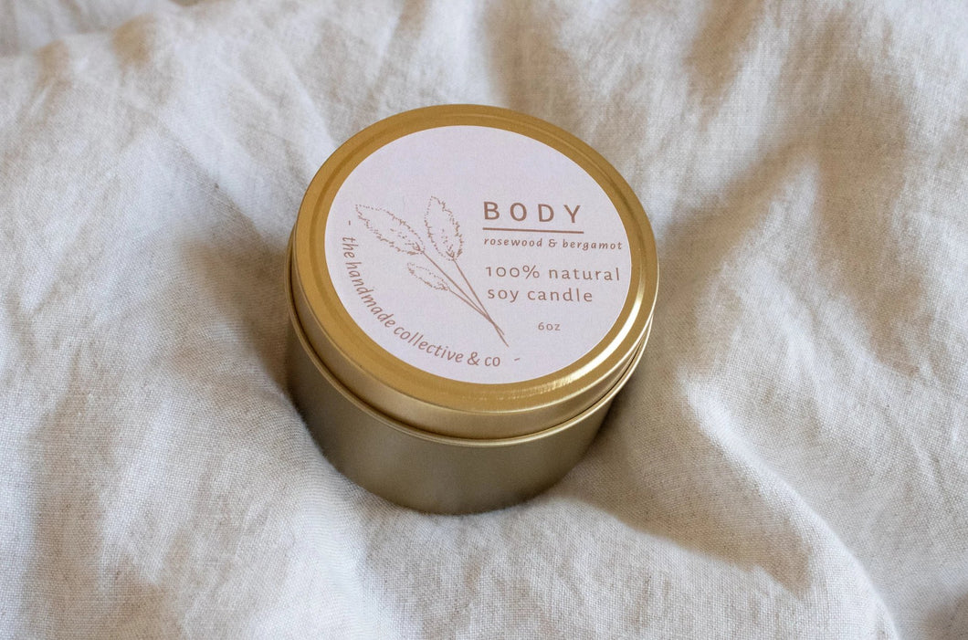 Body ~ Natural Soy Candle