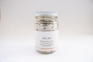 Botanical Bath Salts ~ RELAX (120g)