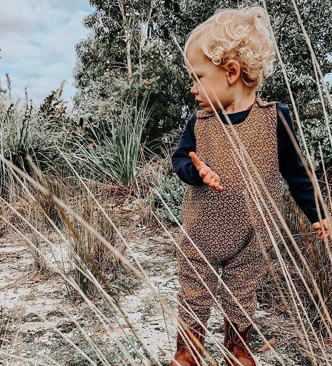 Dried Foliage Romper