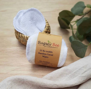 Bamboo facial wipes