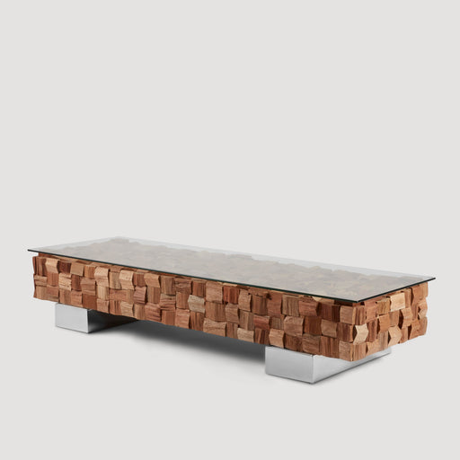 Enchanted Block Wood Coffee Table DC