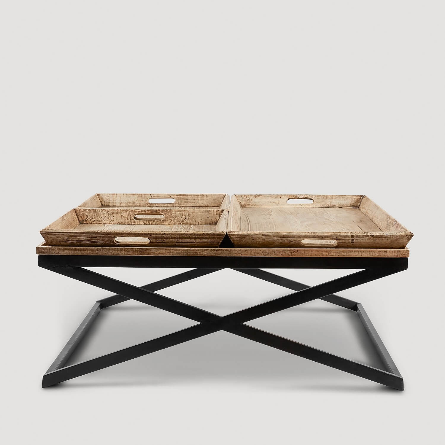 Swazi Coffee Table with Tray