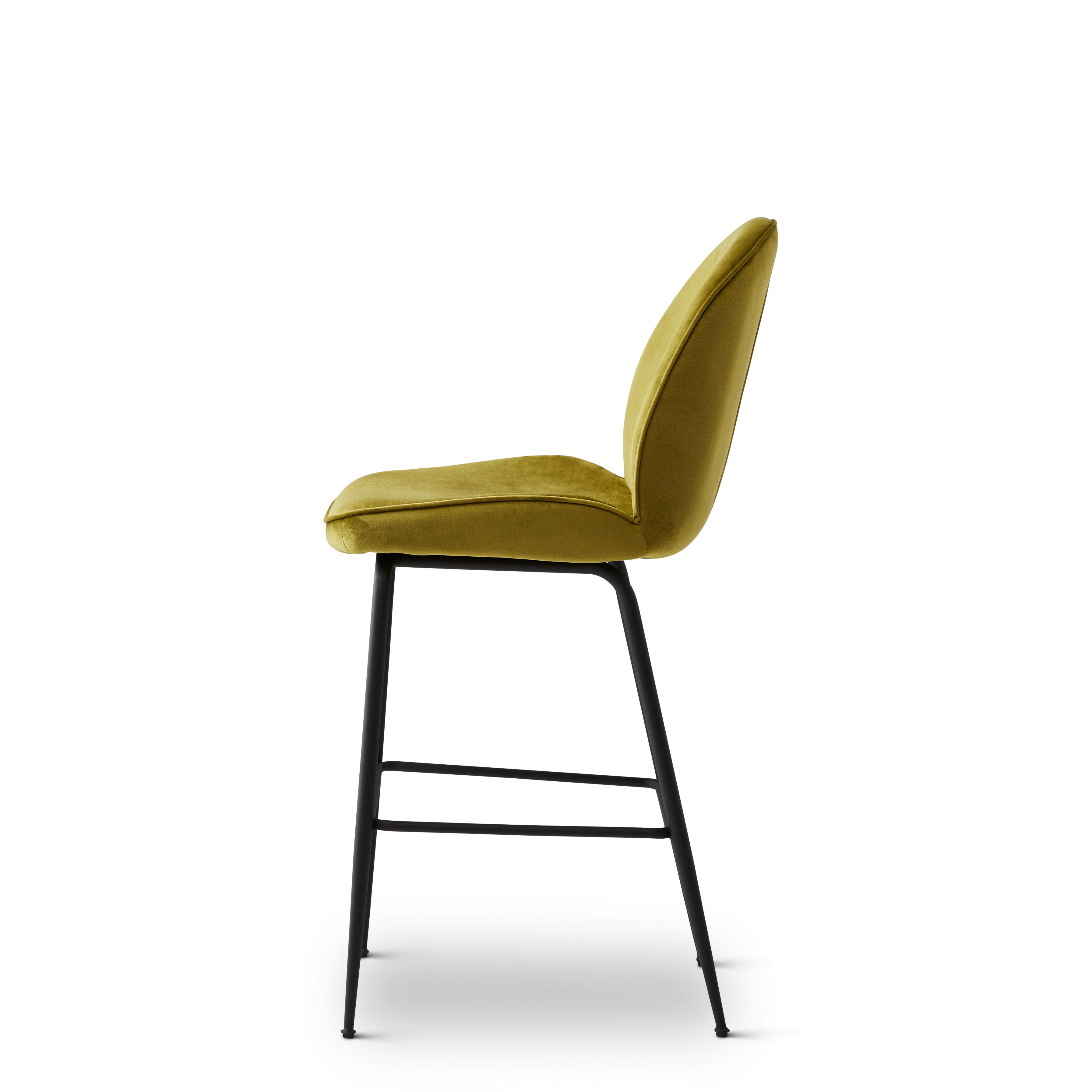 Abbey Bar Stool - Chartreuse Green