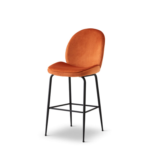 Abbey Bar Stool - Rust