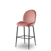 Abbey Bar Stool - Dusty Pink