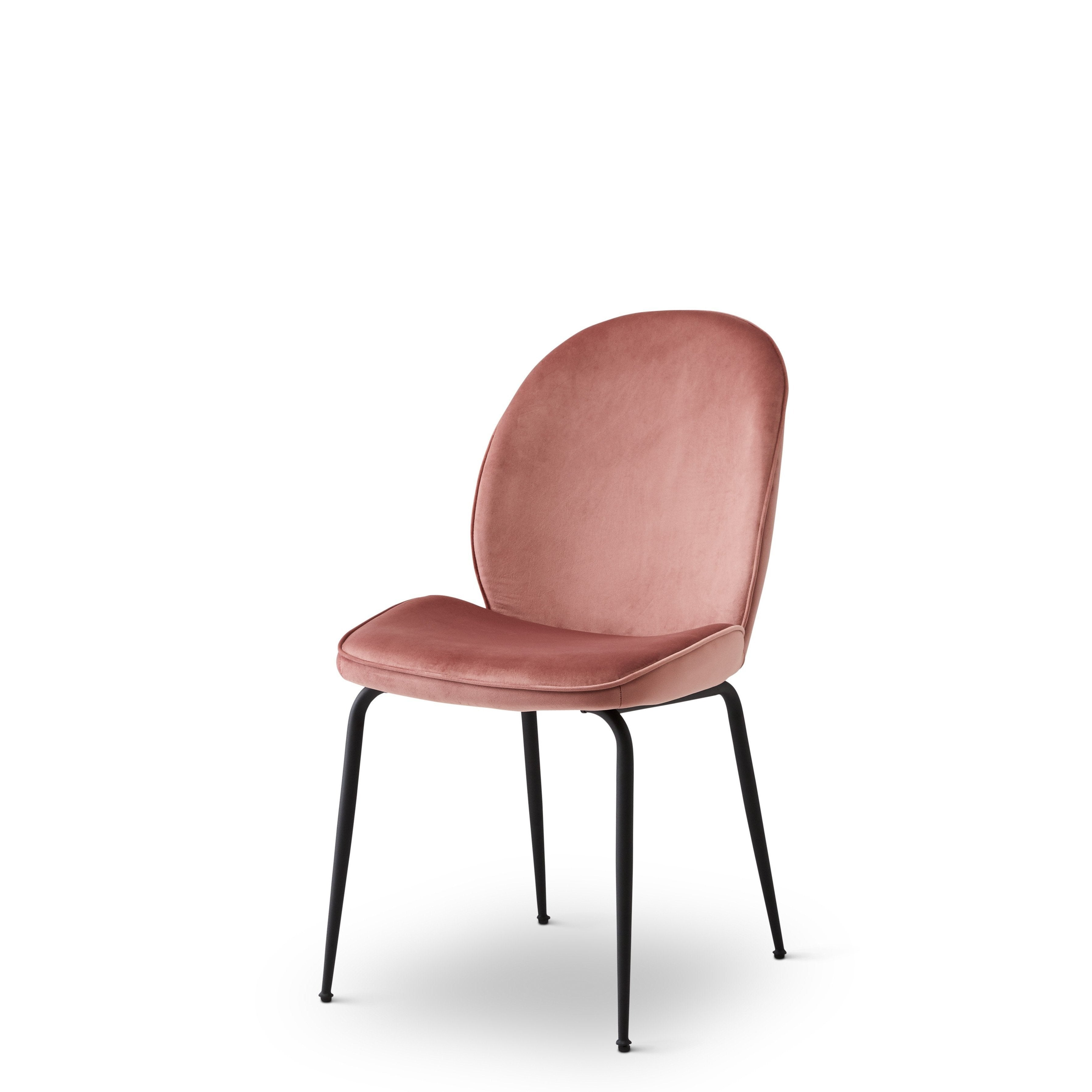 Abbey Chair - Dusty Pink