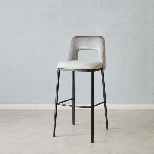 Tia two tone barstool
