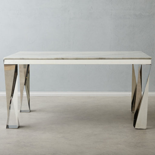 Masa Marble Dining Table White