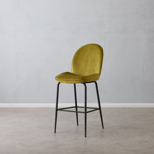Abbey Bar Stool - Chartreuse Green DC