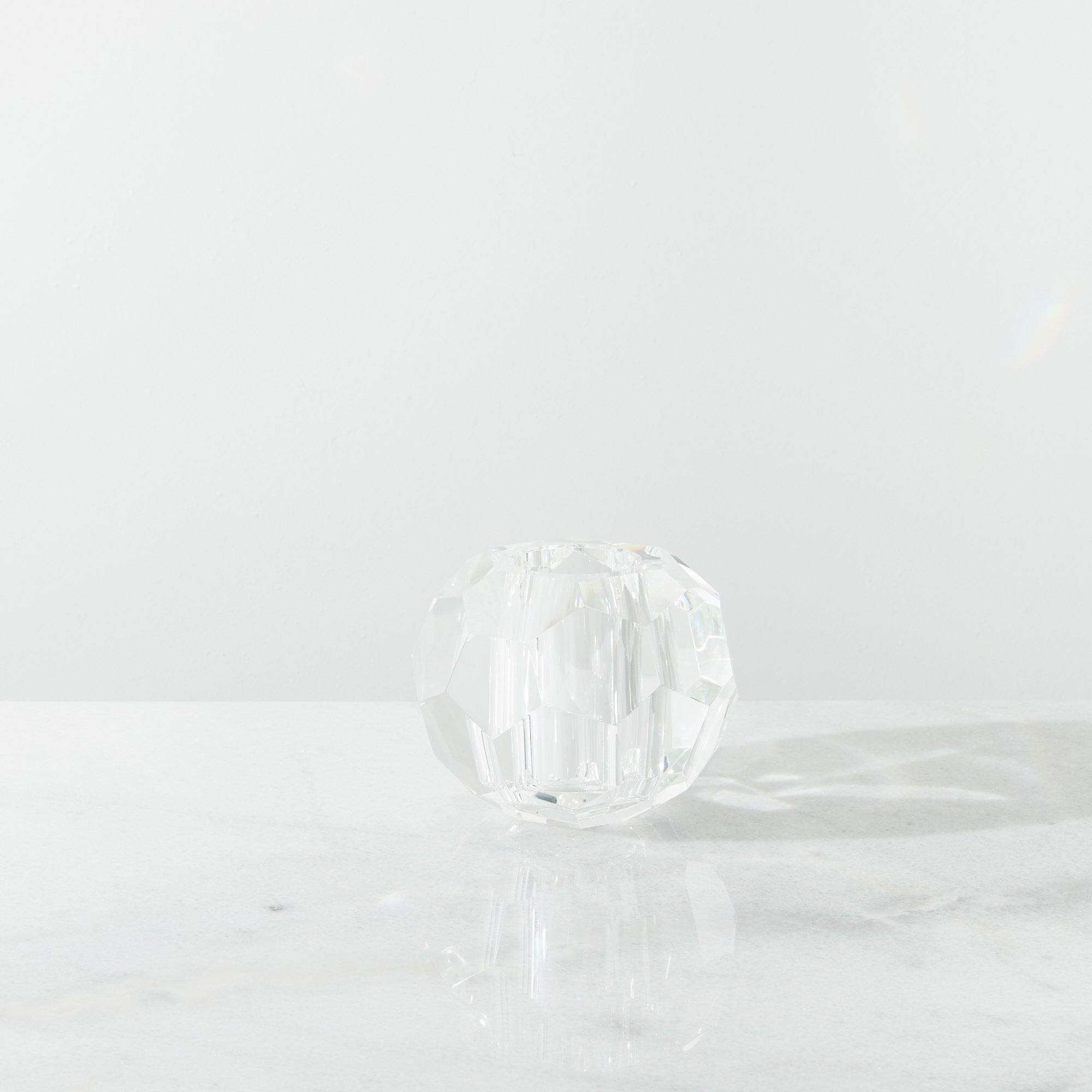 Eva Small Crystal Candle Holder