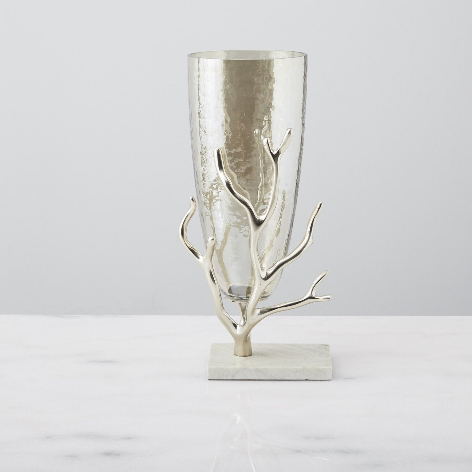Small Gold Branch Vase