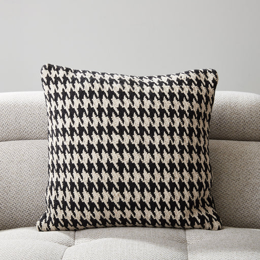 Cotton Houndstooth Cushion DC