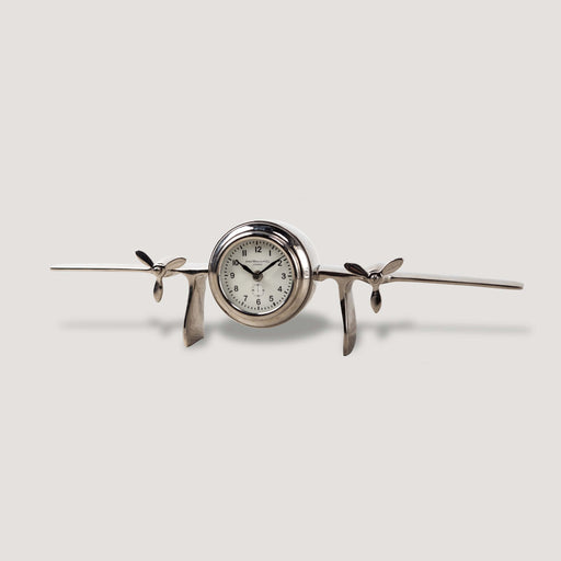 Atomic Table Clock Nickel