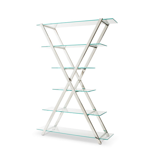 Cross stainless steel shelf